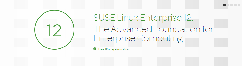 SUSE 12 is out